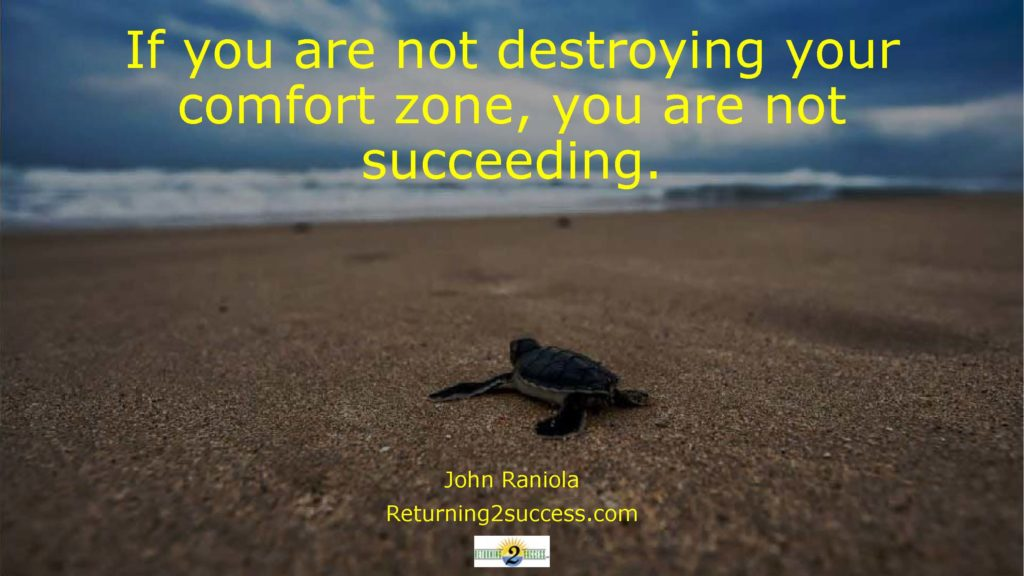 If you are not destroying your comfort zone.pdf john raniola