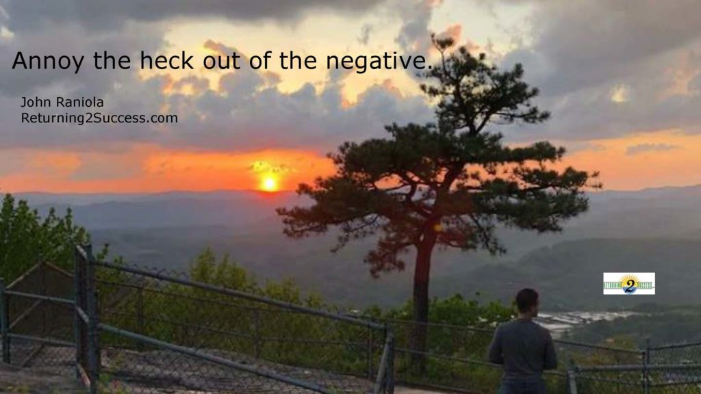 annot the heck out of the negative